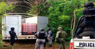 Localizan con drones hidrocarburo robado en Veracruz