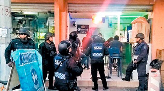 Redada Policía México