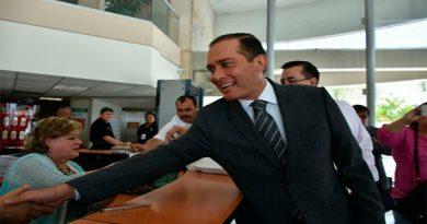Rinde su declaración el ex Fiscal General del Estado Luis Ángel Bravo Contreras
