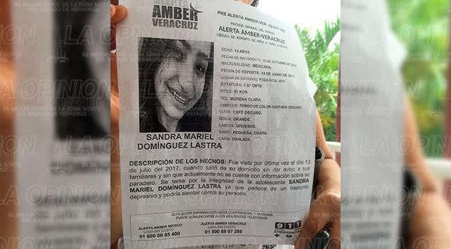 Sandra Mariel Dominguez Lastra Desaparecida