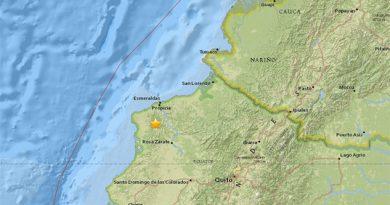 Sismo de 5,3 sacude Ecuador