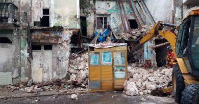 Sospecha INAH que derrumbe de edificio en Veracruz pudo ser provocado