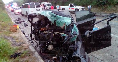 Terrible Accidente Carretera México Tuxpan