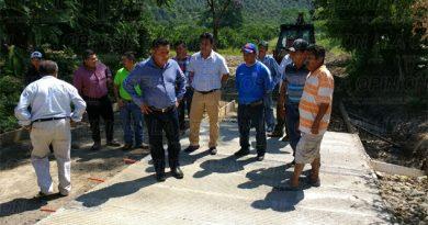 Trabajos de calidad en todo el municipio Isidro
