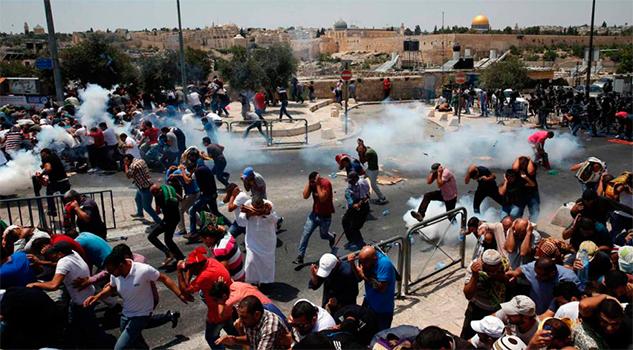 Tres palestinos muertos en las protestas en Jerusalén