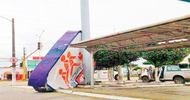 Tromba en Minatitlán y Coatzacoalcos