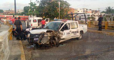 Tuxpan Elementos Policía Municipal Lesionados