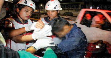 Un herido y cinco detenidos, saldo de riña en Garibaldi