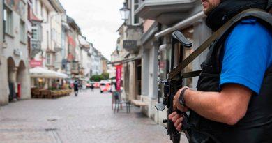 Varios heridos en Suiza por un hombre armado con una motosierra