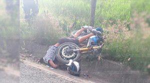 Muere Veloz Motociclista