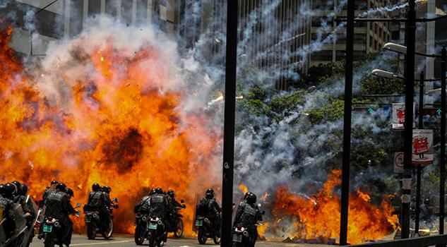 Violencia Venezuela Maduro