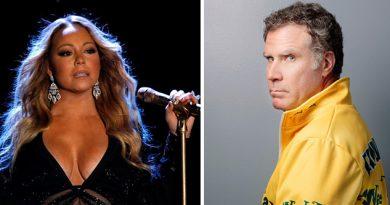 Will Ferrell despide Mariah Carey