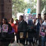 Integrantes del Colectivo por la Paz, presentarán una denuncia en contra Duarte