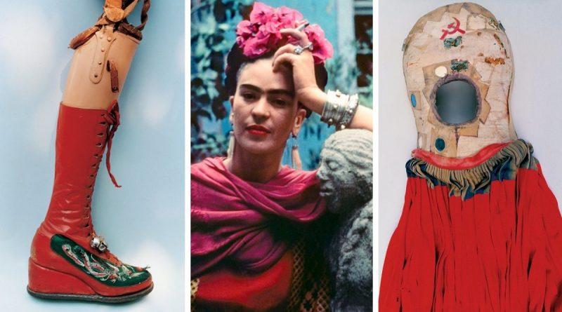 GALERÍA: Conoce el armario de Frida Kahlo