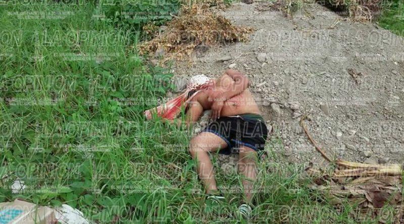 Joven ejecutado en Papantla
