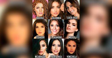 las latinas en el miss universo