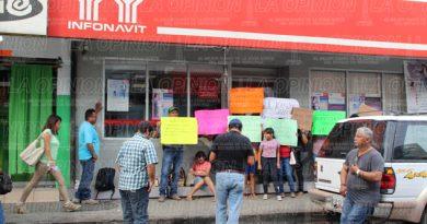 protestan vecinos infonavit
