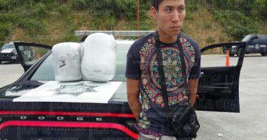 transportaba droga