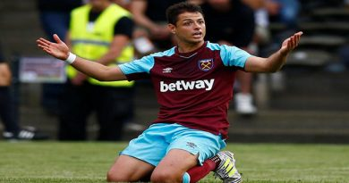 'Chicharito' con West Ham