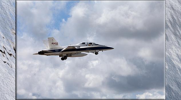 1.-campaña de vuelos supersónicos en el Centro Espacial Kennedy