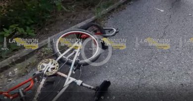 Accidente Bicicleta