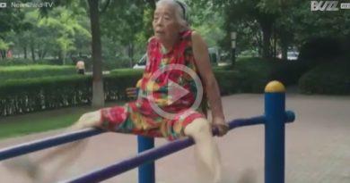 Anciana Auténtica Atleta