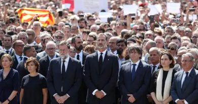 Atentado Barcelona Multitud