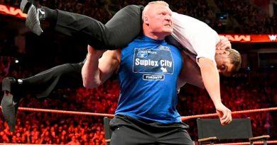 Brock Lesnar mostró el poderío; Samoa Joe durmió a Reigns