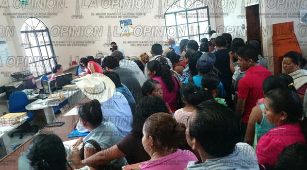 Crece demanda en Registro Civil de Tantoyuca