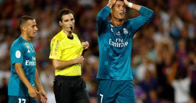 Cristiano Ronaldo, suspendido