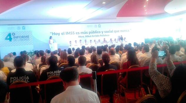 Cuarto Informe Delegado IMSS