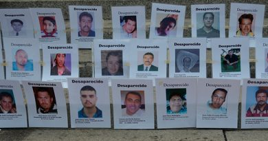 Día Internaciona Desapariciones Forzadas
