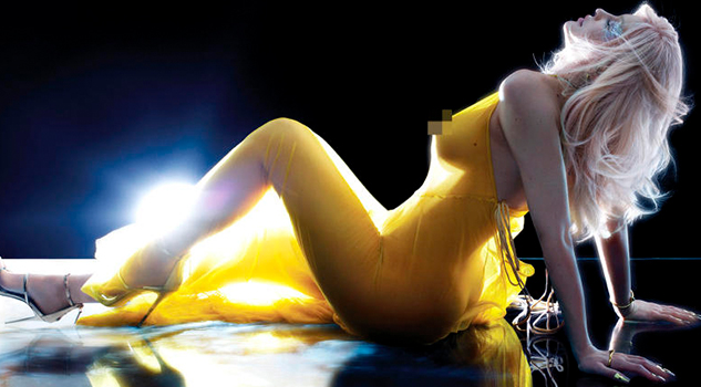 Desnuda Kylie Jenner Posa