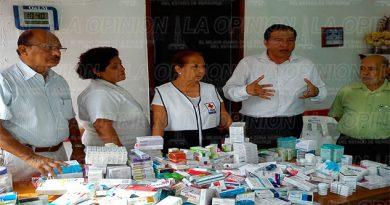 Donan medicamentos a la Delegación de la Cruz Roja