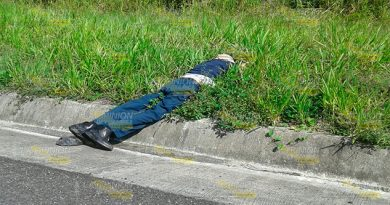 Encuentran una persona ejecutada sobre la autopista