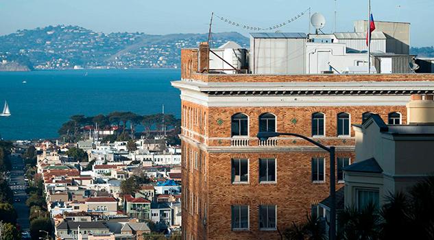 Estados Unidos cierra el Consulado ruso en San Francisco