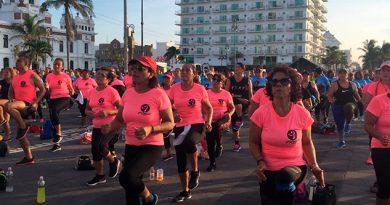 Evento Masivo Zumba Malecón Veracruz