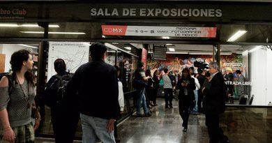Exposición viaja en Metro