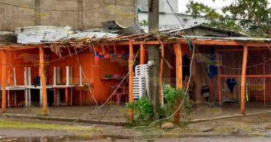 Graves afectaciones deja Franklin en Costa Esmeralda