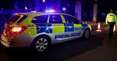 Hombre Detenido Londres Agrede Policías