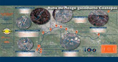 Listo, proyecto para introducir primera etapa del gasoducto en Xalapa