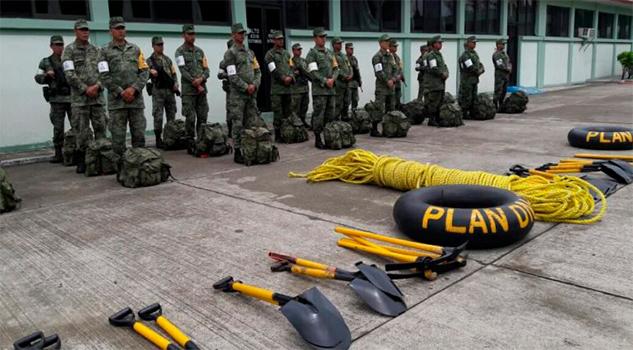 Mantendrá Sedena vigilancia en ríos Cazones, Pantetepec y Pánuco