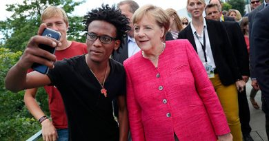 Merkel Abrir Fronteras