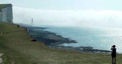 Neblina Química Desalojar Playa Inglesa