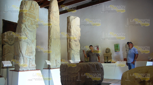 Ocultan Piezaz Prehispánicas
