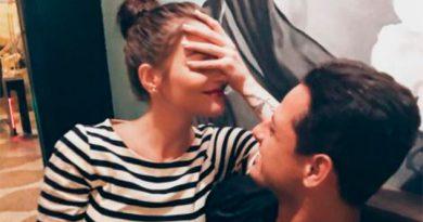 Por fin se dejan ver juntos Chicharito y Andrea Duro