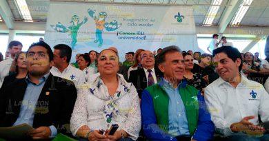 Sara Ladrón de Guevara Miguel Ángel Yunes Linares UV