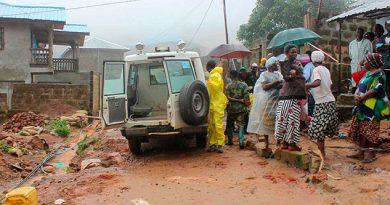 Sierra Leona Muertos Deslaves Lluvias