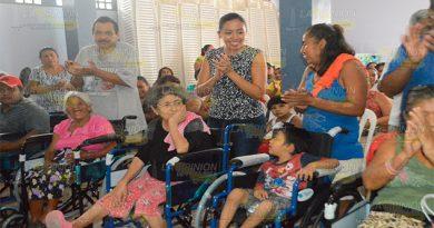 Sillas de ruedas para gente vulnerable