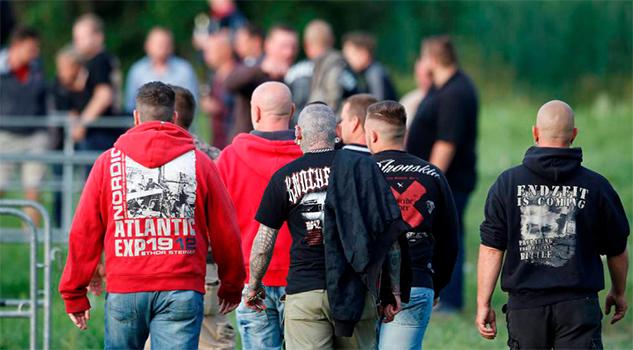 Themar, la meca del rock neonazi en Alemania
